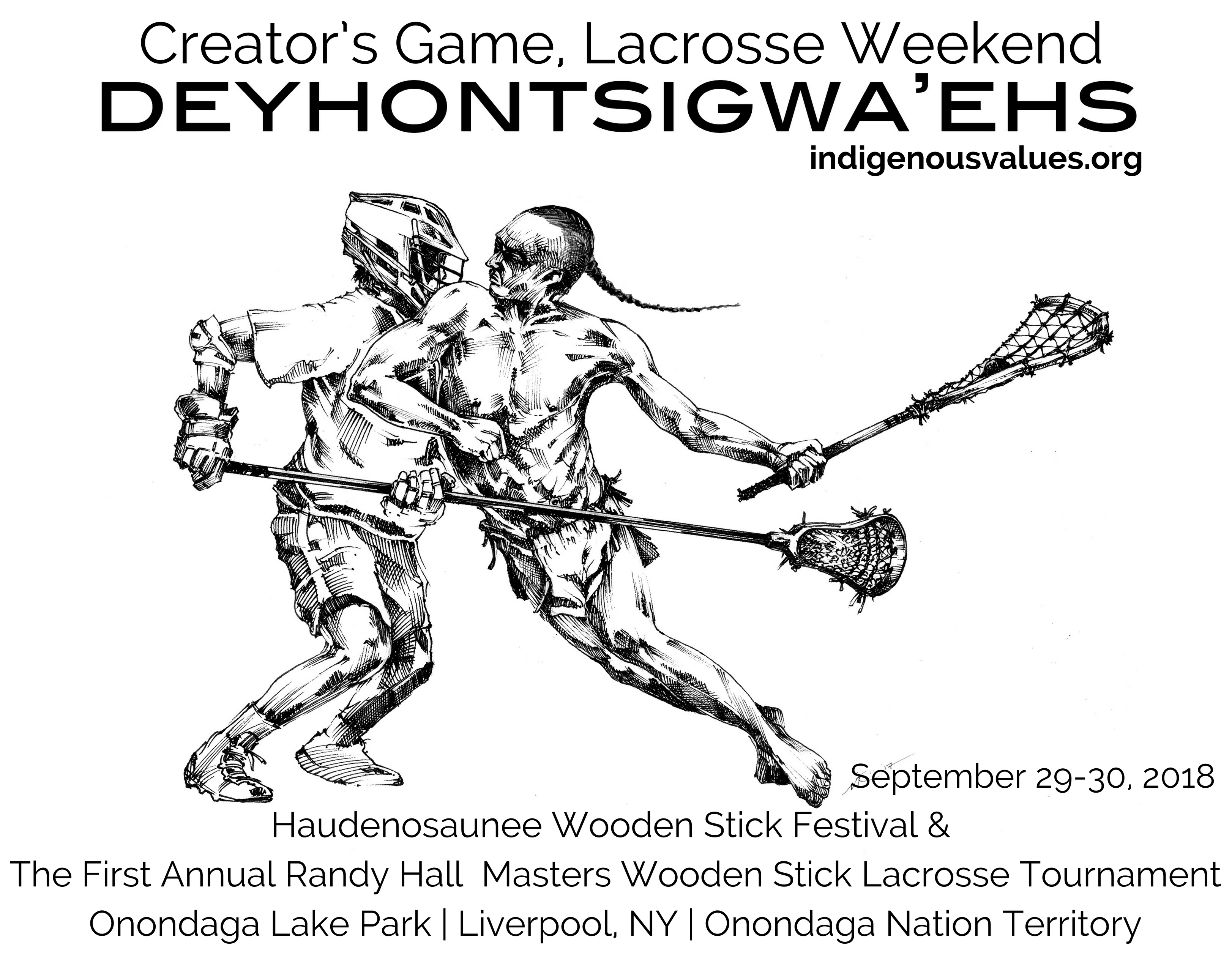 deyhontsigwa ehs the creator s game lacrosse weekend 2018